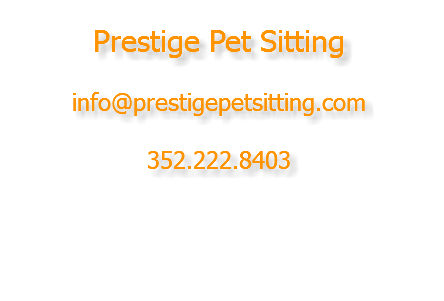 welcome to prestige pet sitting